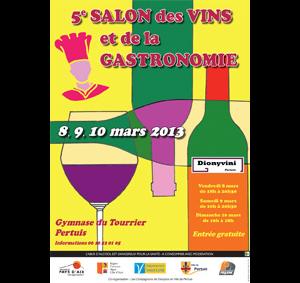 Concours des vins de Pertuis 2013 : deux vins à l'honneur