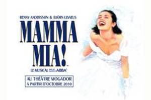 Mamma Mia Musical Theatre Mogador Paris