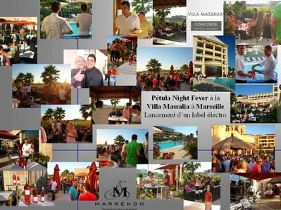 Petula Night Fever à la Villa Massalia Marseille