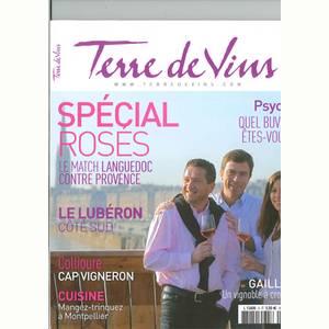 Terres de Vins article sur le Luberon mai-juin 2010