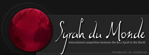 Concours des Meilleures Syrah du Monde 2014