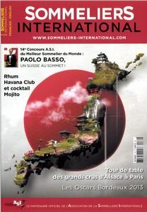 Sommelier international Juin 2014