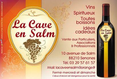La cave en Salm