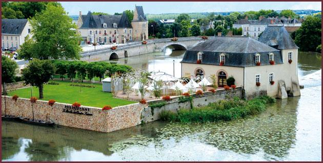 Moulin des quatre saisons restaurant gastronomique la fl che for Le jardin des 4 saisons pusignan